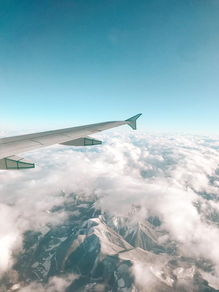 spellbound travels canada flight view