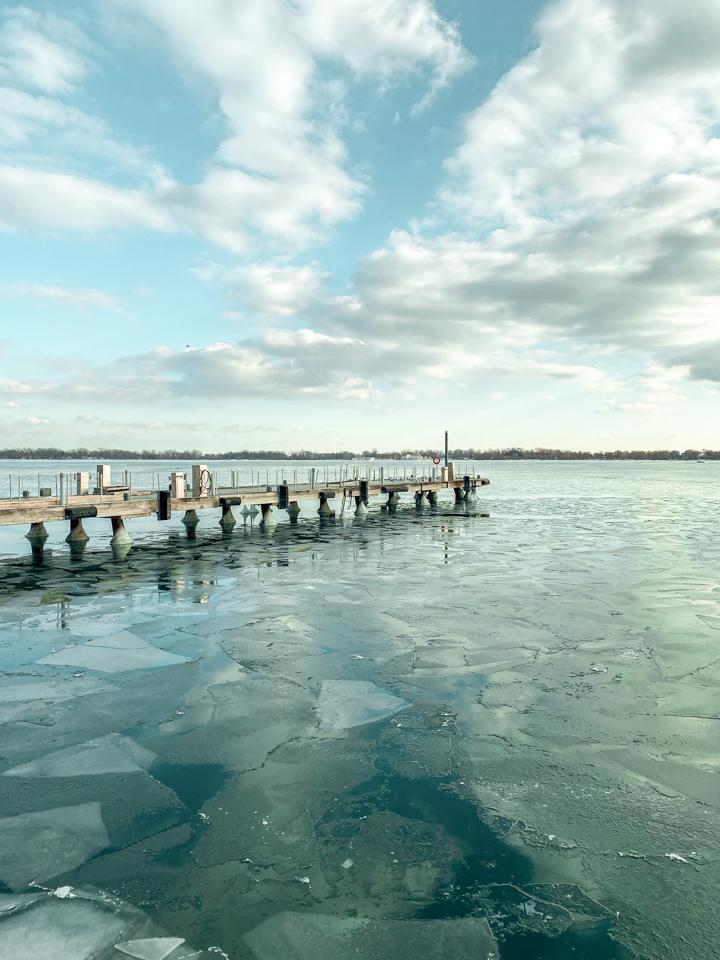 spellbound travels toronto waterfront in winter