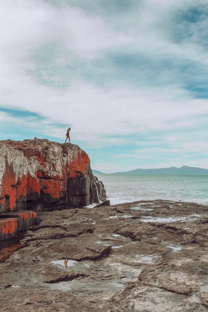 spellbound travels tasmania australia red rocks
