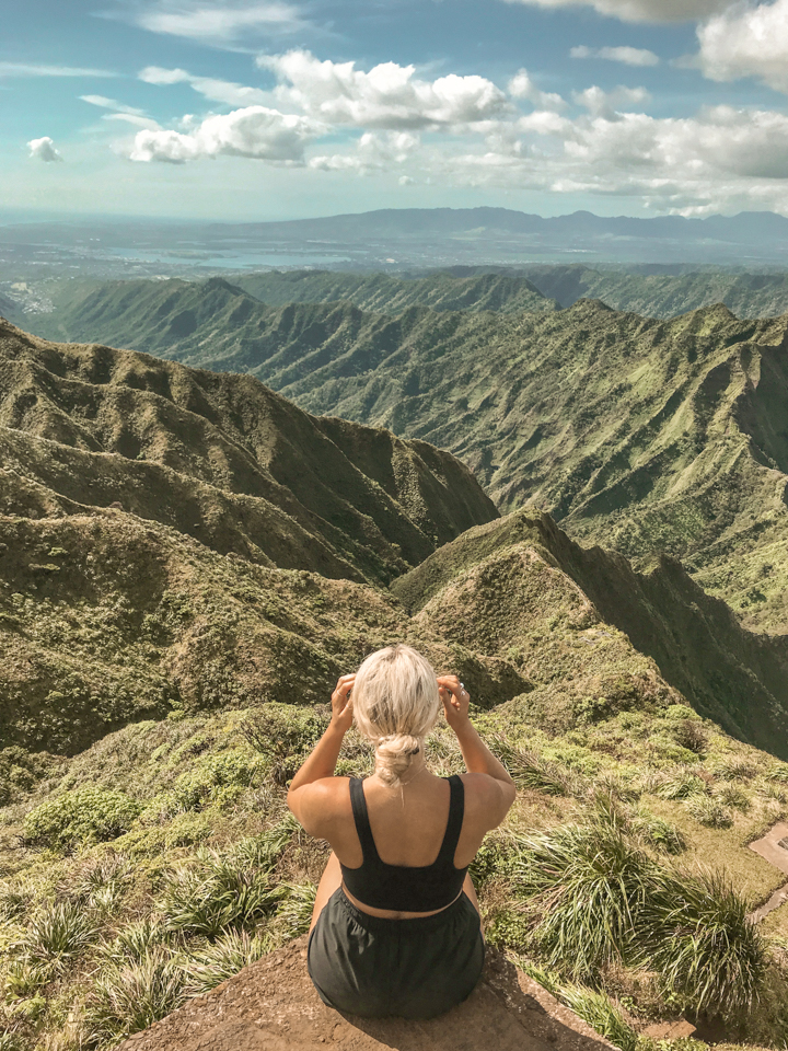 spellbound travels stairway to heaven hike view oahu haiku stairs