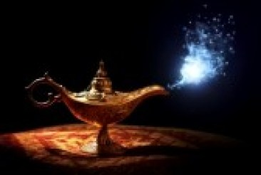 27252202-magic-lamp-from-the-story-of-aladdin-with-genie-appearing-in-blue-smoke-concept-for-wishing-luck-and Witchcraft Spells For Money and Love
