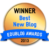 Best New Blog Winner 2013 - Edublog Awards