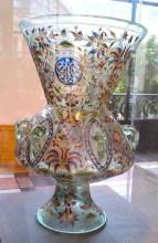 Multi-Coloured vase Petit Palais