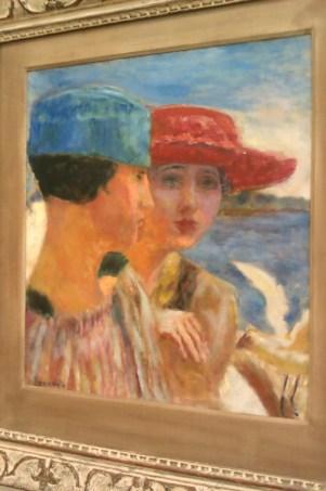 Jeunes Filles a la mouette, Pierre Bonnard