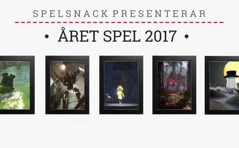 Ep. 201 – Årets spel 2017