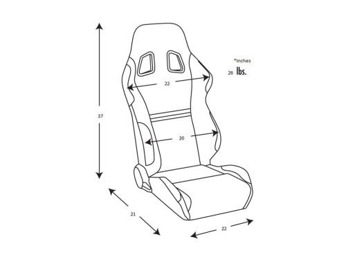 Spenard Seat Size