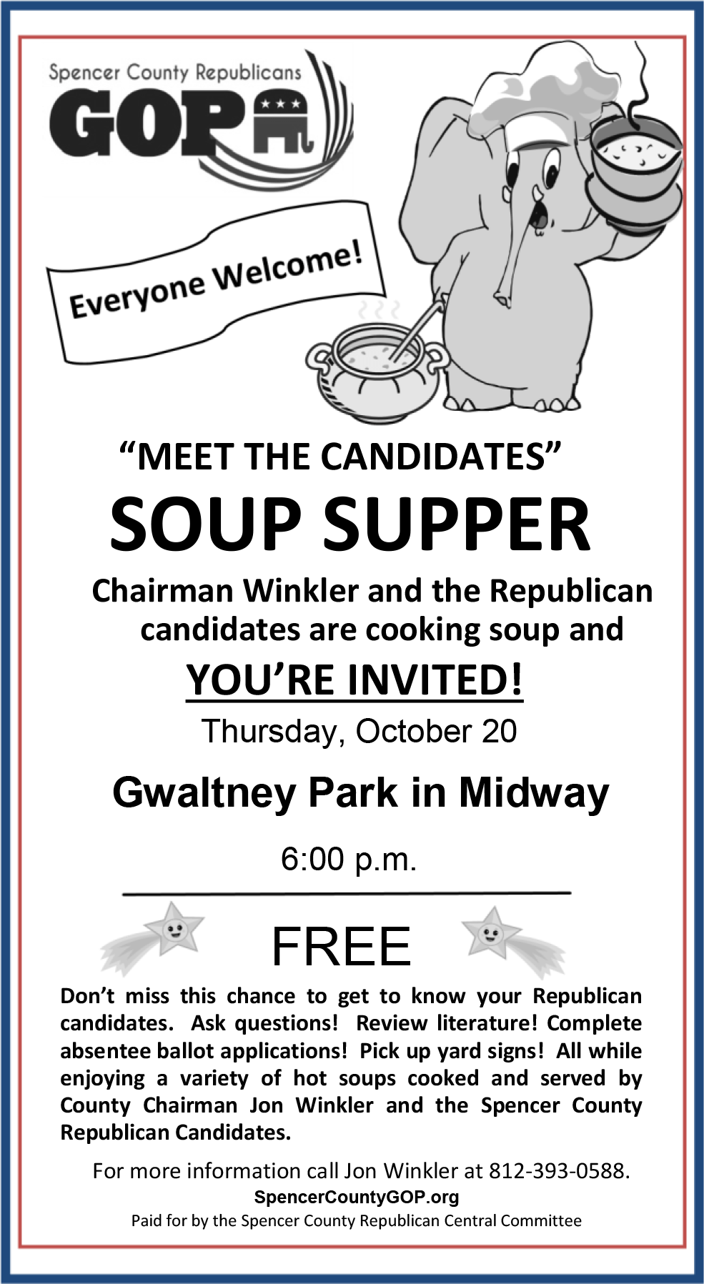 Indiana spencer county rockport - Come Meet The Candidates