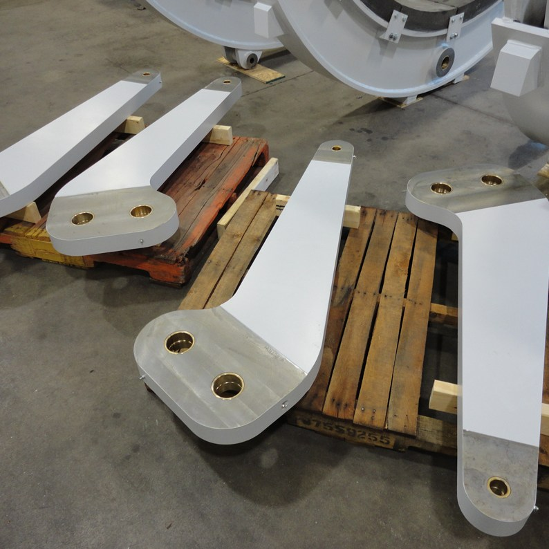 Custom Designed Hoist Brake Linkage