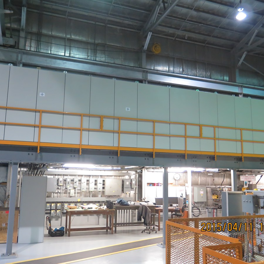 Mechanical Services Mezzanine with Drive System
