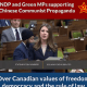 "Conservatives Slam NDP & Green MPs For Supporting ""Chinese Communist Party Propaganda"""