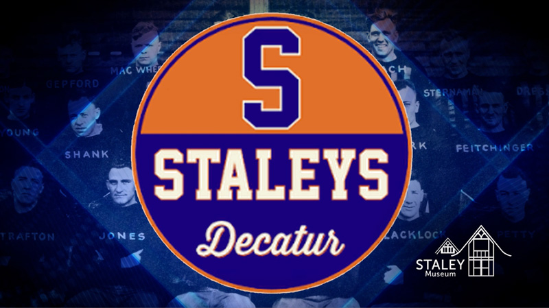 Original logo of the Decatur Staleys