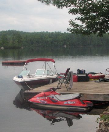 boat and jetski