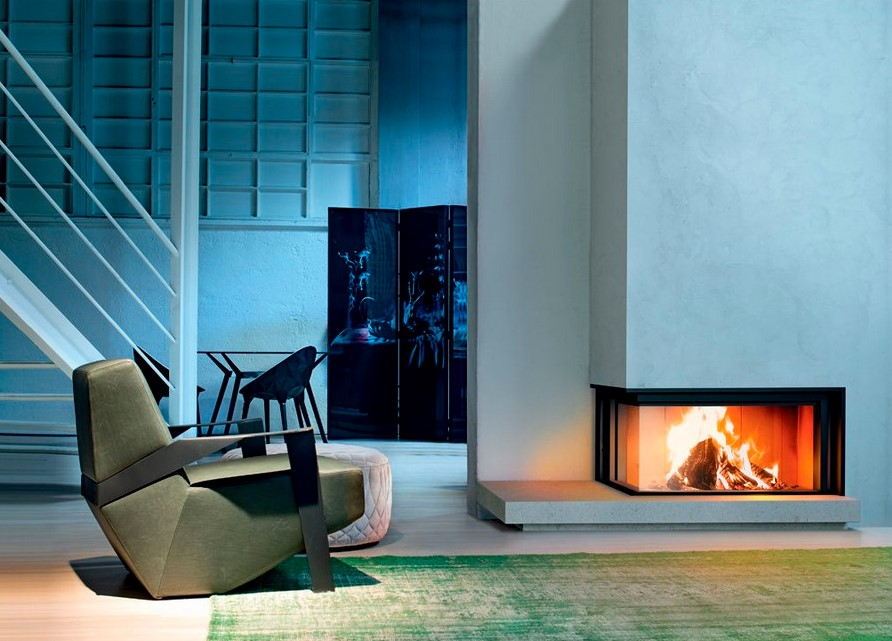 33+ Modern And Traditional Corner Fireplace Ideas, Remodel