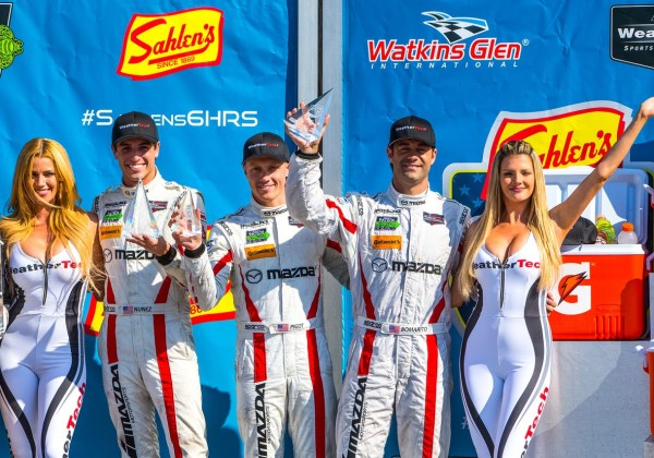 Another Podium Finish For the Mazda Prototype Team