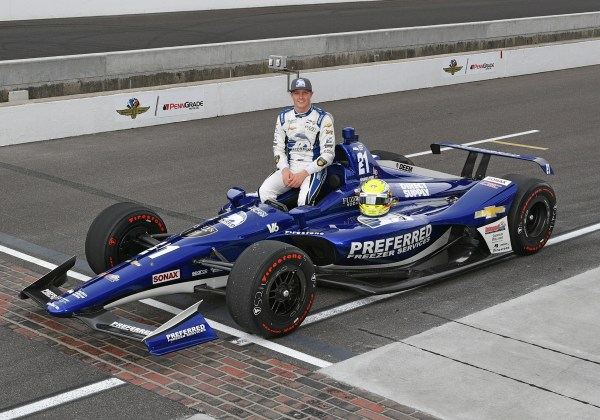 Pigot Will Start Outside Row 2 in the 102nd Running of the Indianapolis 500