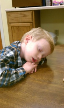 nursery sleeping kid