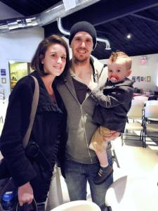 Eric Jones (a member of our Board of Directors) attended the breakfast with his family (wife Larissa & son Levi)