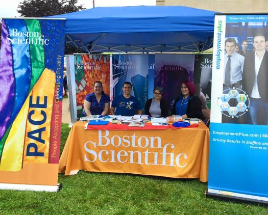 2016 Festival - Boston Scientific booth