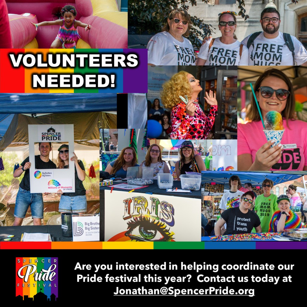 Festival Volunteers Needed 2