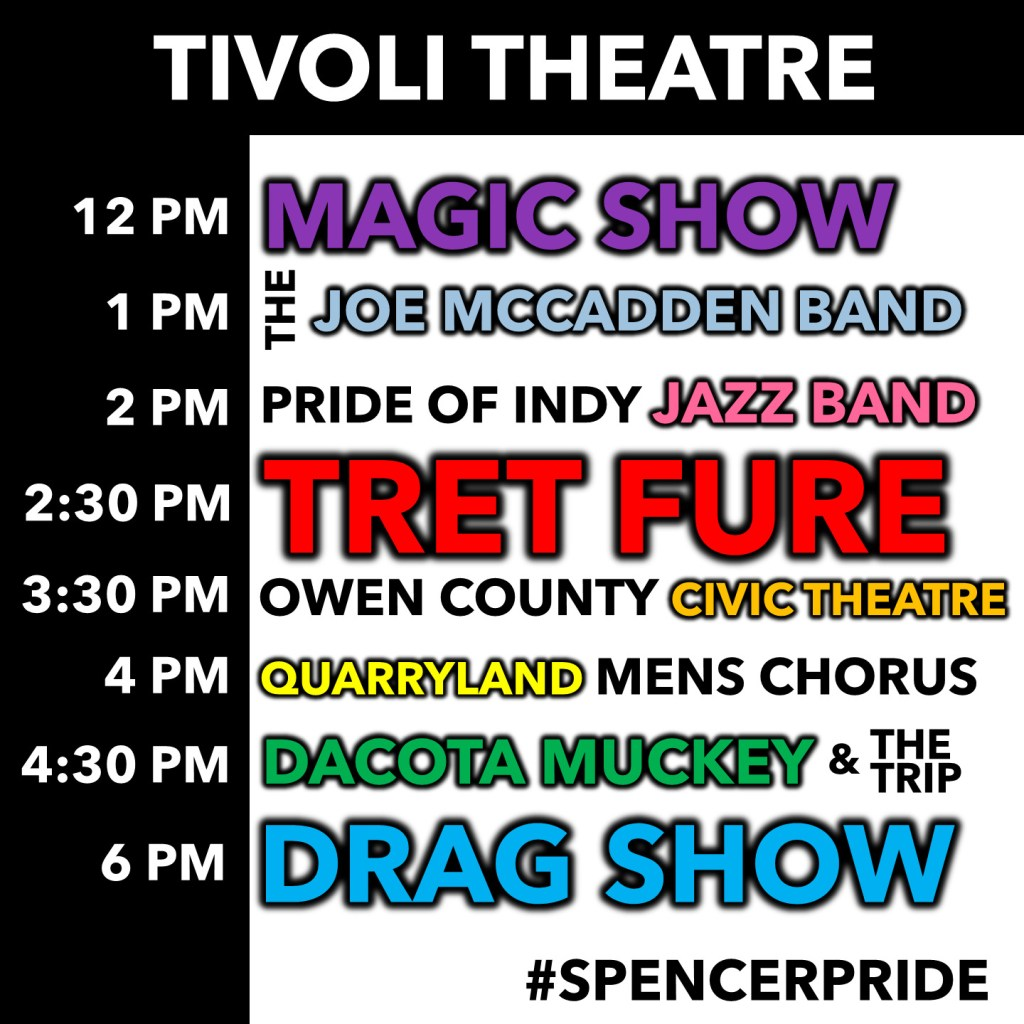 Tivoli Theatre Lineup
