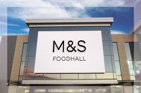 Retail Parks - M&S with frame