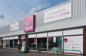 Retail Parks - Tile Giant