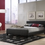 Fashion Bed Group Euro Platform Bed Black