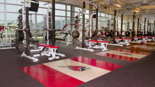 Image result for ball state weight room