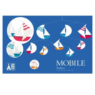 Djeco Polypro Mobile – Sailboats
