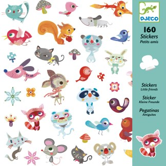 Djeco Stickers – Little Friends