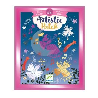 Djeco Artistic Patch Foil Art – Melodies