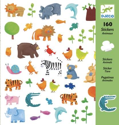 Djeco Stickers – Animals