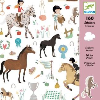 Djeco Stickers – Horses