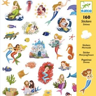 Djeco Stickers – Mermaids