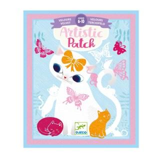 Djeco Artistic Patch Velvet Art – Little Pets