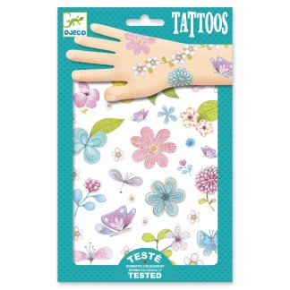 Djeco Tattoos – Fair Flowers of the Fields