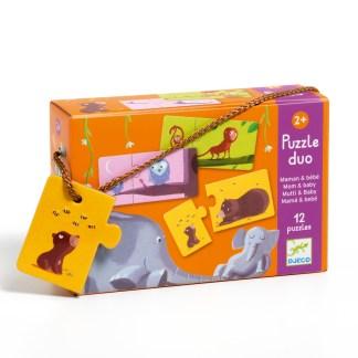 Djeco Puzzle Duo – Mum and Baby