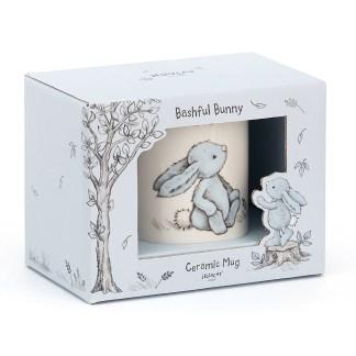 Jellycat Bashful Bunny Ceramic Mug – Blue