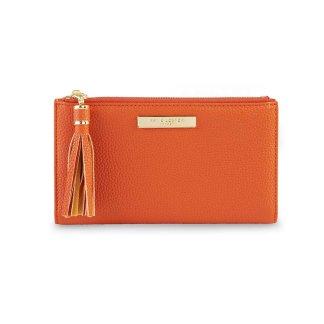 Katie Loxton Tassel Card Holder – Burnt Orange