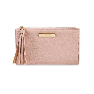 Katie Loxton Sophia Tassel Fold-out Purse – Pale Pink