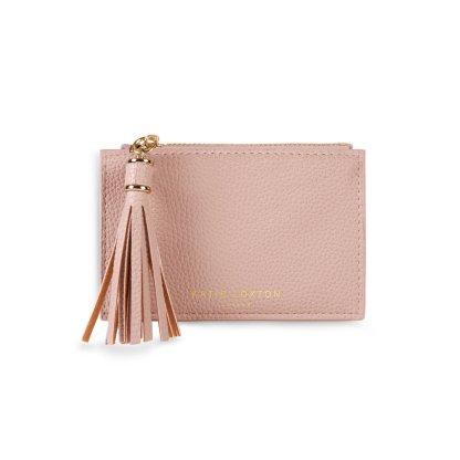 Katie Loxton Sophia Tassel Coin/Card Purse – Pale Pink