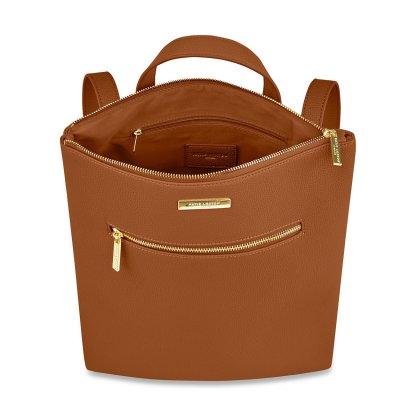 Katie Loxton Brooke Backpack – Cognac