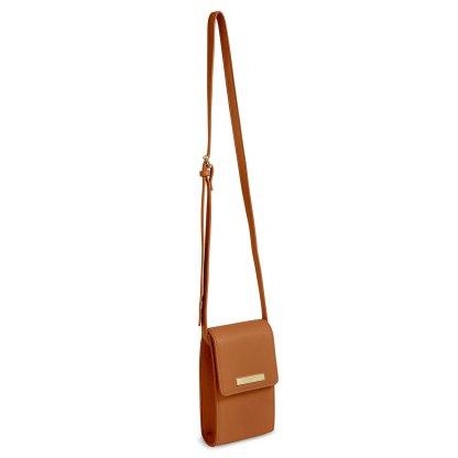 Katie Loxton Taylor Crossbody Bag – Cognac