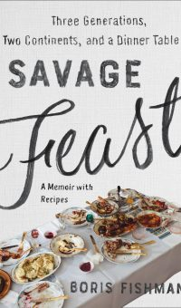 "Book cover for ""Savage Feast"" by Boris Fishman"