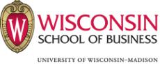 Wisconsin School of Business logo