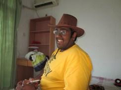 Sahal, the cowboy.