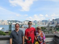 Family Picture from Hong Kong Island!