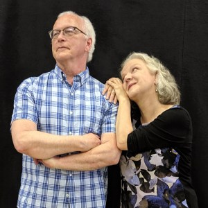 Is there a little Senior's Romance in the air? - Rick Jones (Hal), Charlotte Moore (Nelly)