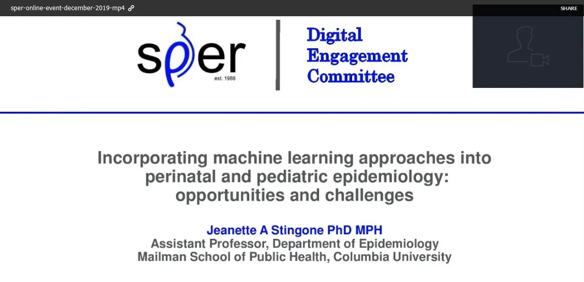 Incorporating machine learning approaches into perinatal and pediatric epidemiology: opportunities and challenges