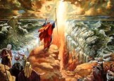 Moses parting the Red Sea is a Supernatural miracle